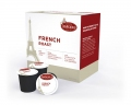 French Roast Single-Single Cups (24 Cups/ Box) (4 Boxes/ MC) (96 k-cups)(Non-Returnable)